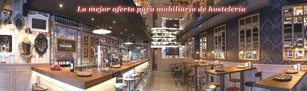 Sillas y Mesas para bares, restaurantes, cafeterías, pubs, discotecas...