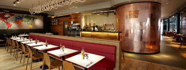 Maquinaria de hosteleria nueva y de segundamanoquienes for Planos de restaurantes modernos