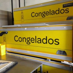 ISLAS DE CONGELADOS 2, 5M AÑO 2012